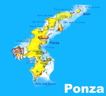 Island of Ponza, Italy