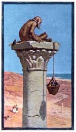 Lifting food up to a Stylite