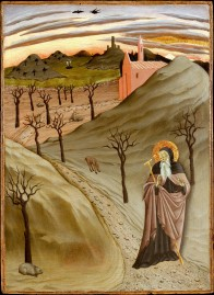 St. Anthony the ascetic in the Egyptian desert