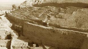 Remains of Seleucia in Iraq, where Roman legions got the plague