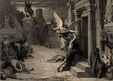 The plague hits Rome