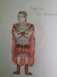 Tiberius Caesar as a general