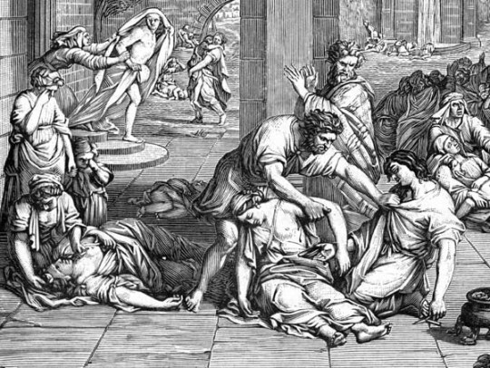The Antonine Plague in the Roman Empire