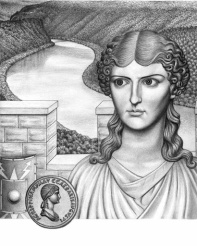 Agrippina the Elder in a Roman army camp in Germania