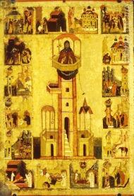 Icon of St. Simeon the Stylite