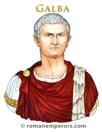 Servius Sulpicius Galba, Roman emperor 68-69AD
