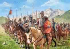 Bandon of Byzantine Cataphracts of the Thematic army