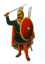 Early Byzantine centurion