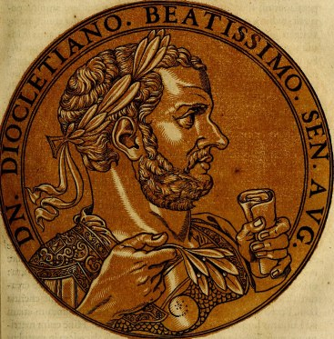 Emperor Diocletian, founder of the Tetrarchy (r. 284-305)