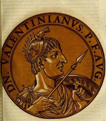 Emperor Valentinian I (r. 364-375)
