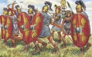 Roman legions created by Gaius Marius