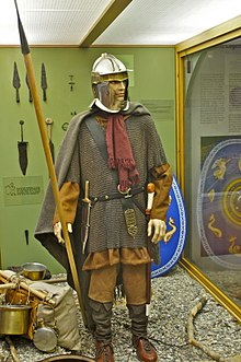 Possible weapons and armor of the Germanic Numerus Batavorum