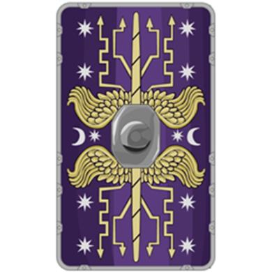 Ornate Praetorian Scutum shield