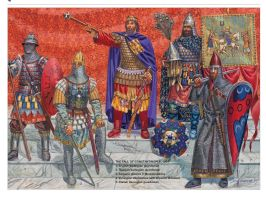 Varangians with a Byzantine emperor