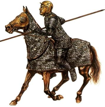 Roman Cataphract cavalry, armor inspired by the Persian Cataphracts