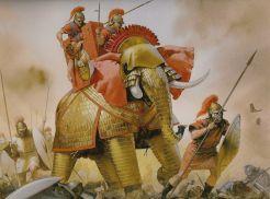 Roman war elephant