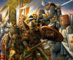 Varangians against the Crusaders, 1204
