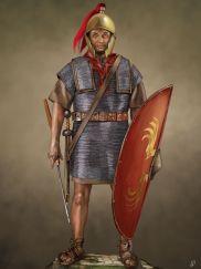 Roman Legionnaire after Marius' Reforms in 107BC