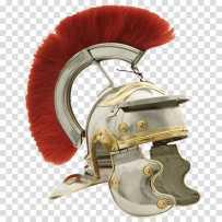 Gallic helmet with crest