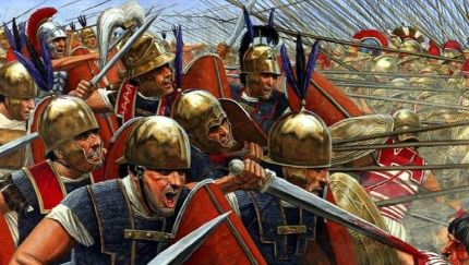 Roman Legions in battle, post Marian Reforms