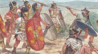 Roman Manipular legion in battle