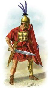 Hastati soldier