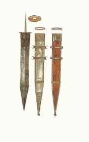 Gladius Hispanica and its sheath