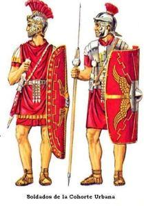 Praetorian Guard (left) and Regular legionnaire (right)