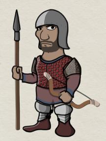 Cretan archer unit, 1453