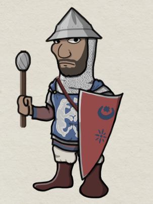 Byzantine Tzakones soldier