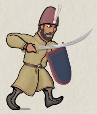 15th century Byzantine infantry