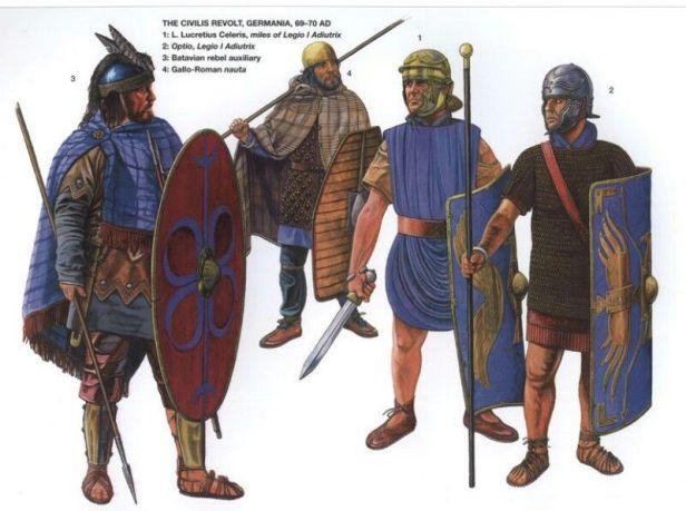 Batavian Auxiliaries in the Roman army