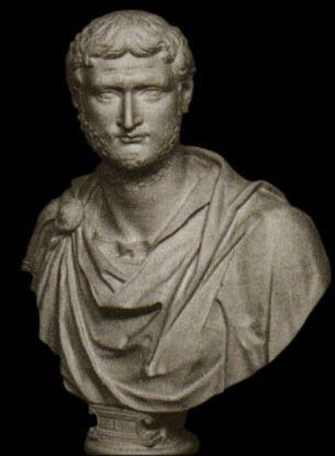 Emperor Gallienus (r. 253-268), son and co-emperor of Valerian