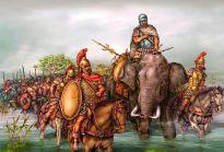 Carthaginian army including war elephants, 2nd Punic War