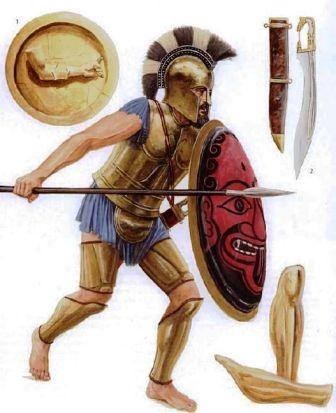 Ancient Roman Hoplite