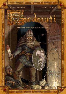 Foederati comics with Foederati soldier