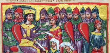 Byzantine infantry in the Alexander Chronicle