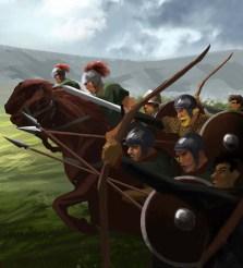Barbarian Foederati troops