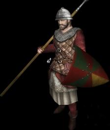 Byzantine regular infantry, 12th century