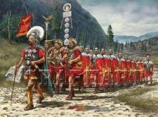 Roman legions structure under Augustus