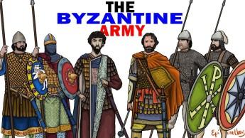 Different Byzantine army units