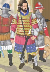 Byzantine Megas Domestikos with Tagmata units