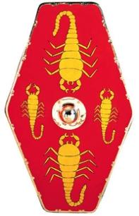 Praetorian Guard Hexagonal Scorpion shield variant