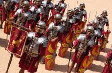 Imperial Roman Legionnaires in standard armor