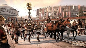 Army triumphal march into Rome