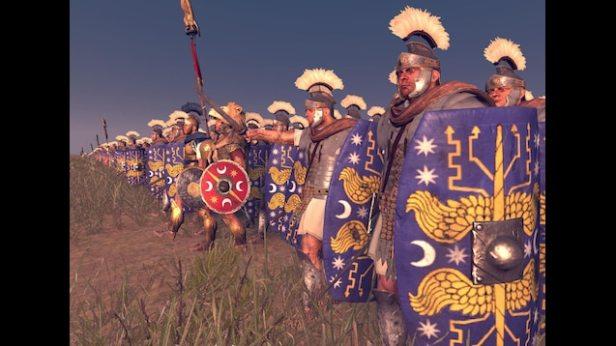 Praetorian Guards in battle