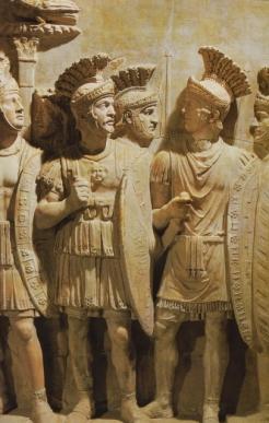 Roman sculpture of the Praetorian Guard