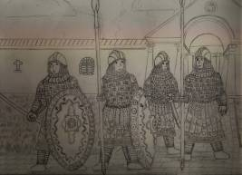 Border troops of the Byzantine Thematic army (Akritai)