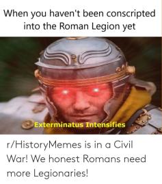 Classic legionnaire meme