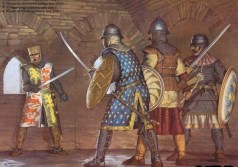 New Byzantine Tzakones against Crusaders